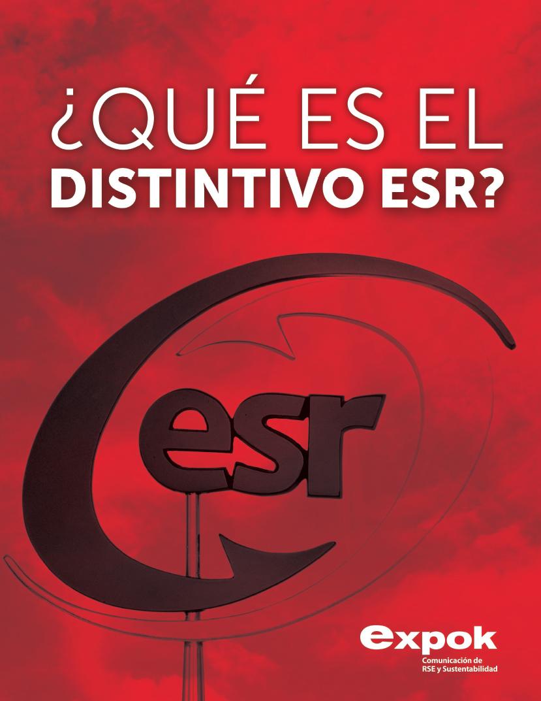 Cómo obtener el Distintivo ESR